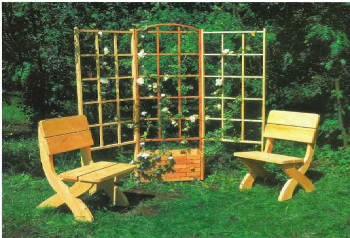 Шпалера для роз – функциональное сооружение и украшение сада.