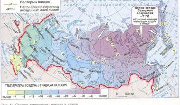 Карты и диаграммы зимних температур надёжней условных карт зон USDA