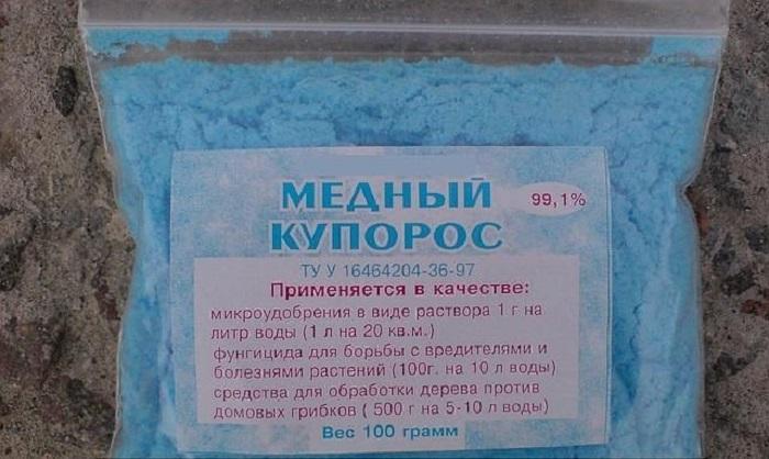 Применяется, как контактное средство против мучнистой росы, разных видов пятнистостей, ржавчины роз.