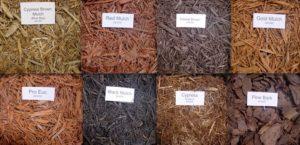 Для мульчирования плетистых роз хорошо подходит декоративное кокосовое волокно.