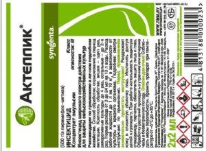 Для небольших розариев лучше покупать инсектициды в упаковках малого объема, потому что открытый пакет хранению не подлежит. Содержимое нужно использовать за один раз.