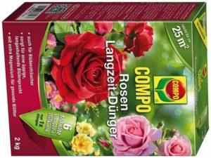 Комплексные удобрения, в которых подобран сбалансированный состав необходимых веществ, удобно использовать для подкормки роз. При этом нужно точно придерживаться рекомендуемой дозировки.