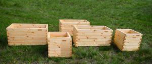 Одним из лучших материалов для контейнера считается древесина.