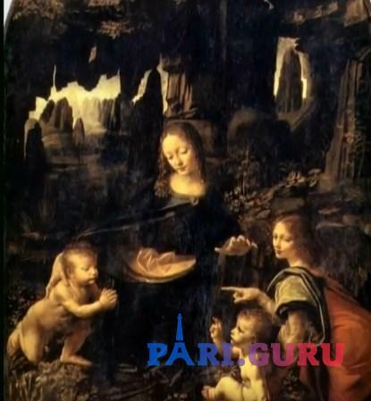 Мадонна в Гроте Леонардо да Винчи