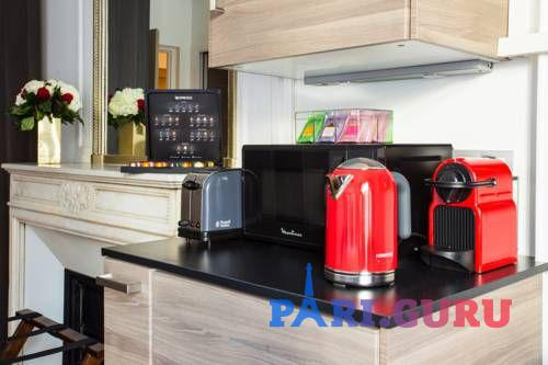 Микроволновая печь и чайник