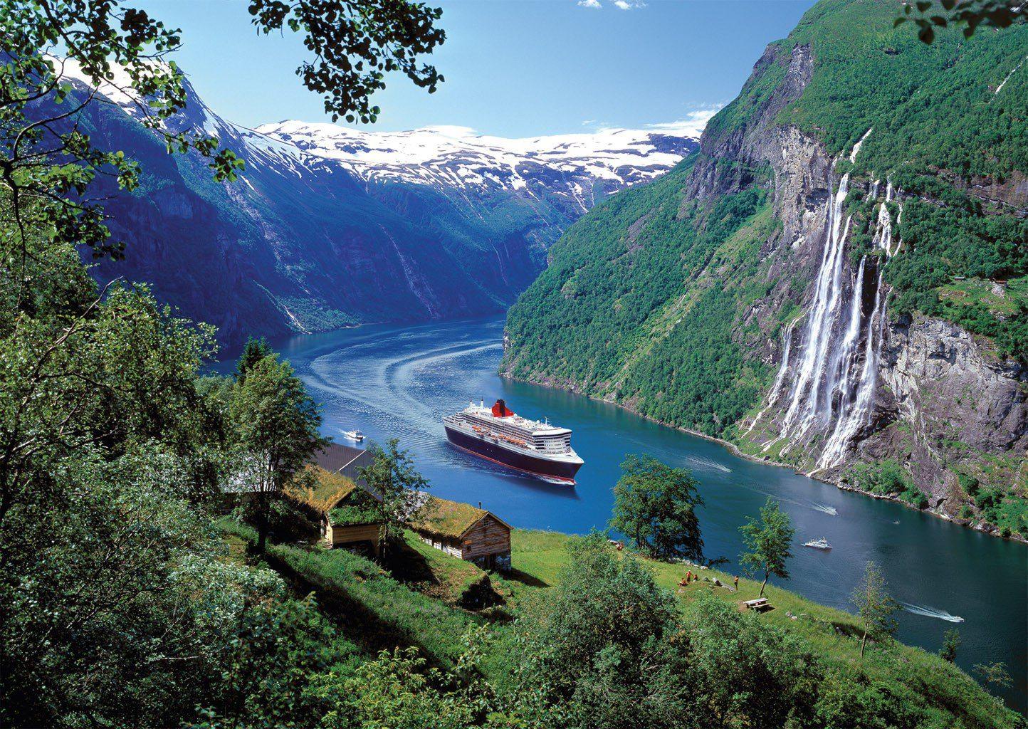 Норвегия - магнит для туристов
