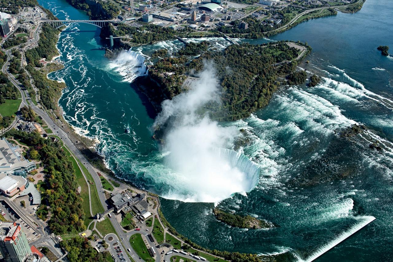 Ниагарский водопад – изюминка Северной Америки