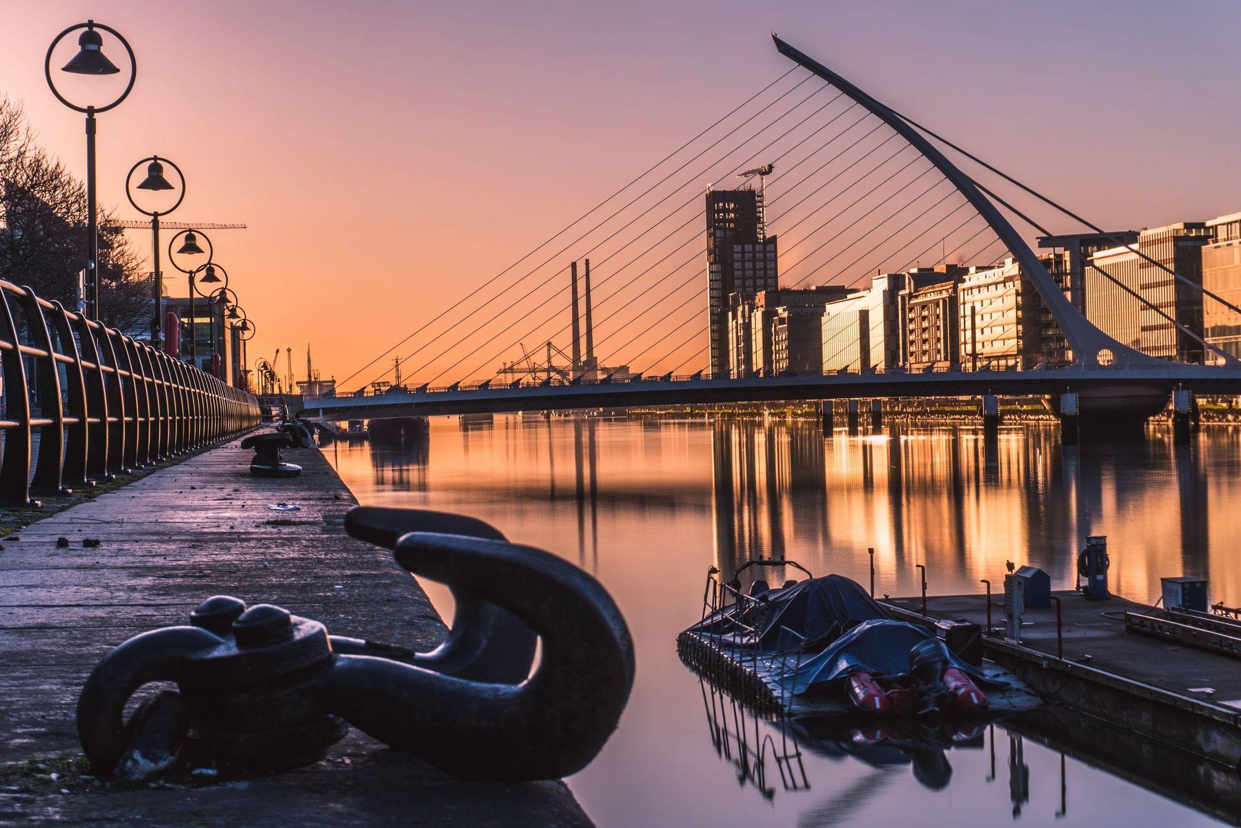 Дублин — достопримечательности центральных улиц