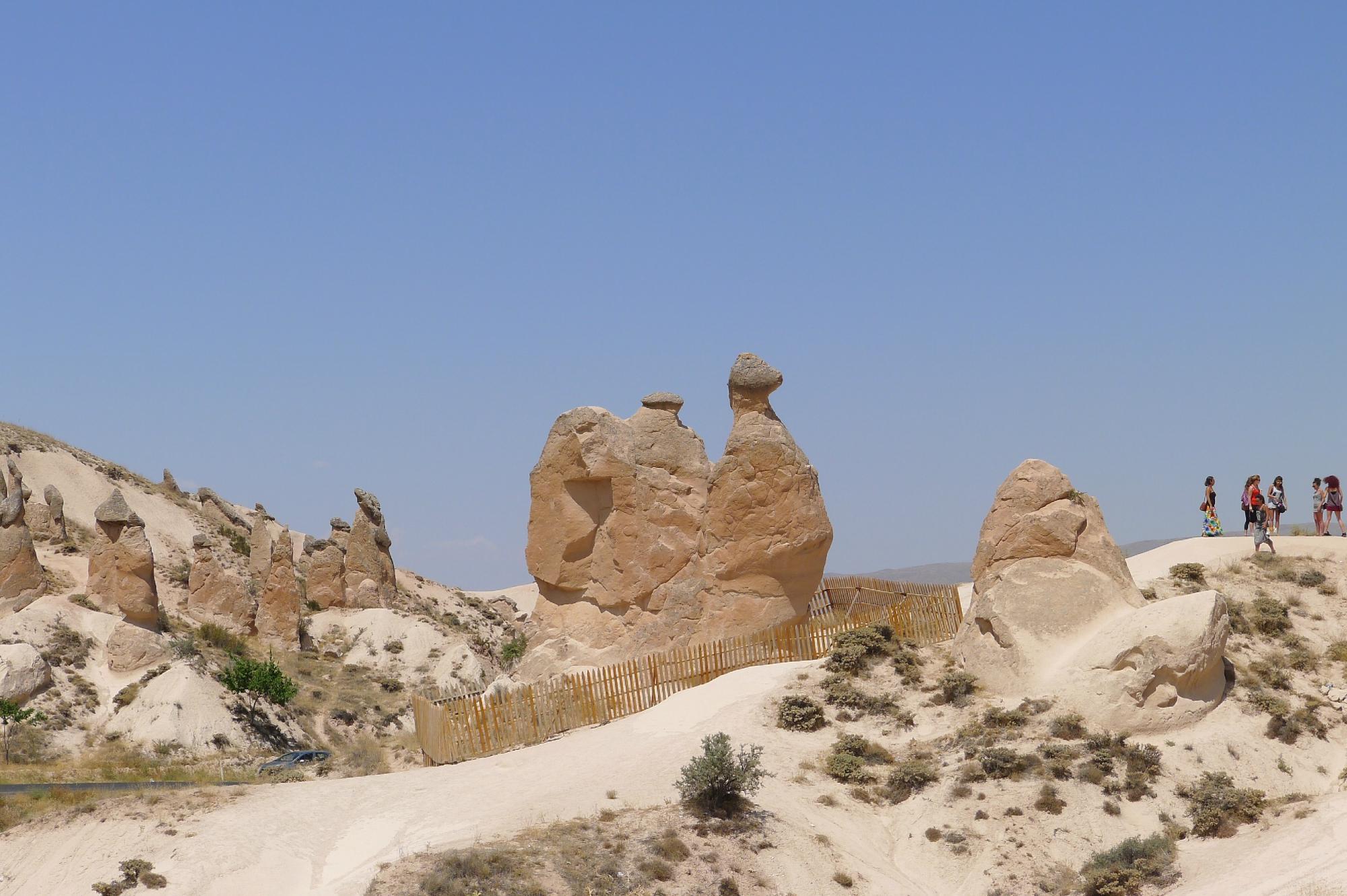 Национальный парк Гереме в Каппадокии. Марсианские пейзажи, не имеющие аналогов в мире