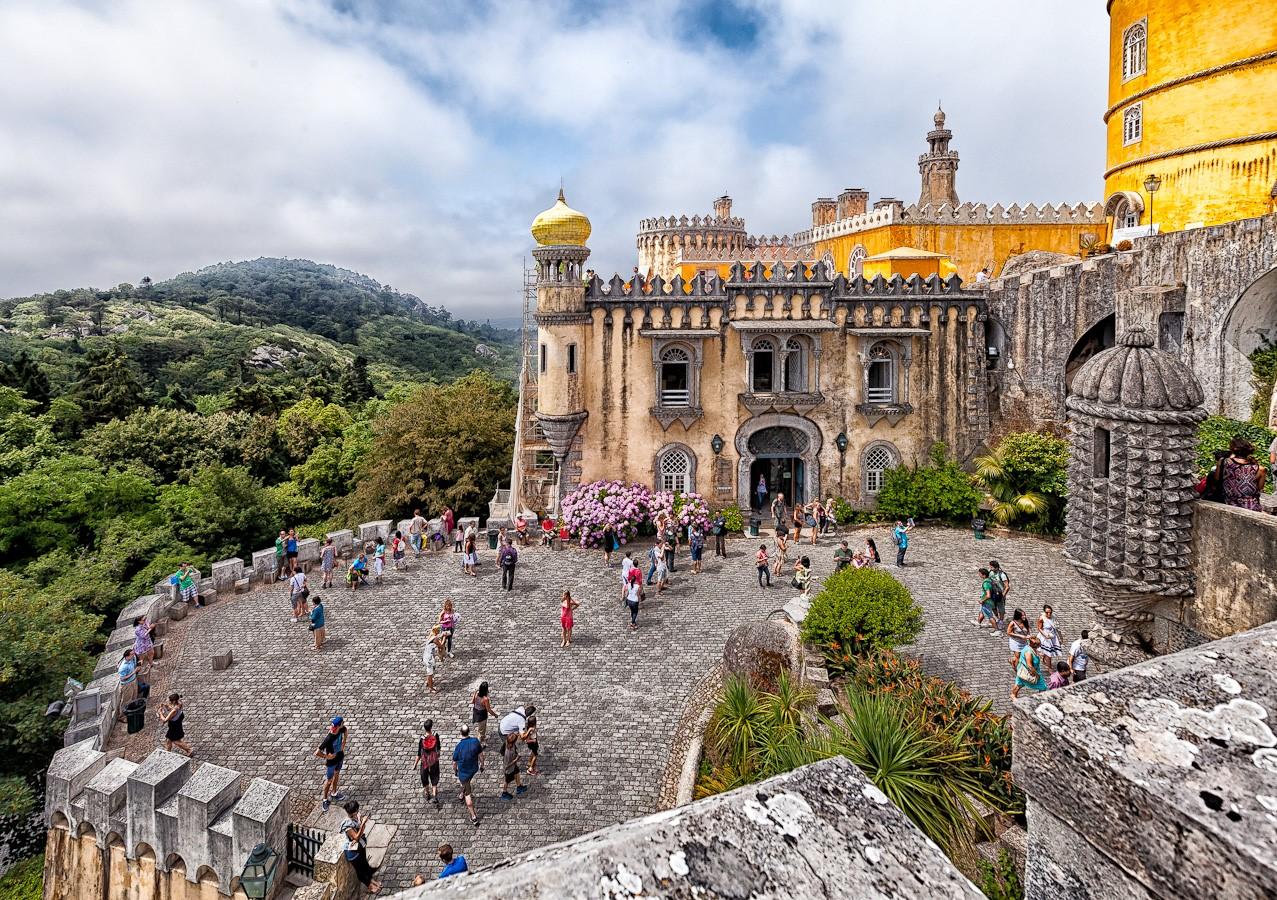 Чудо света в Португалии: Дворец Пена