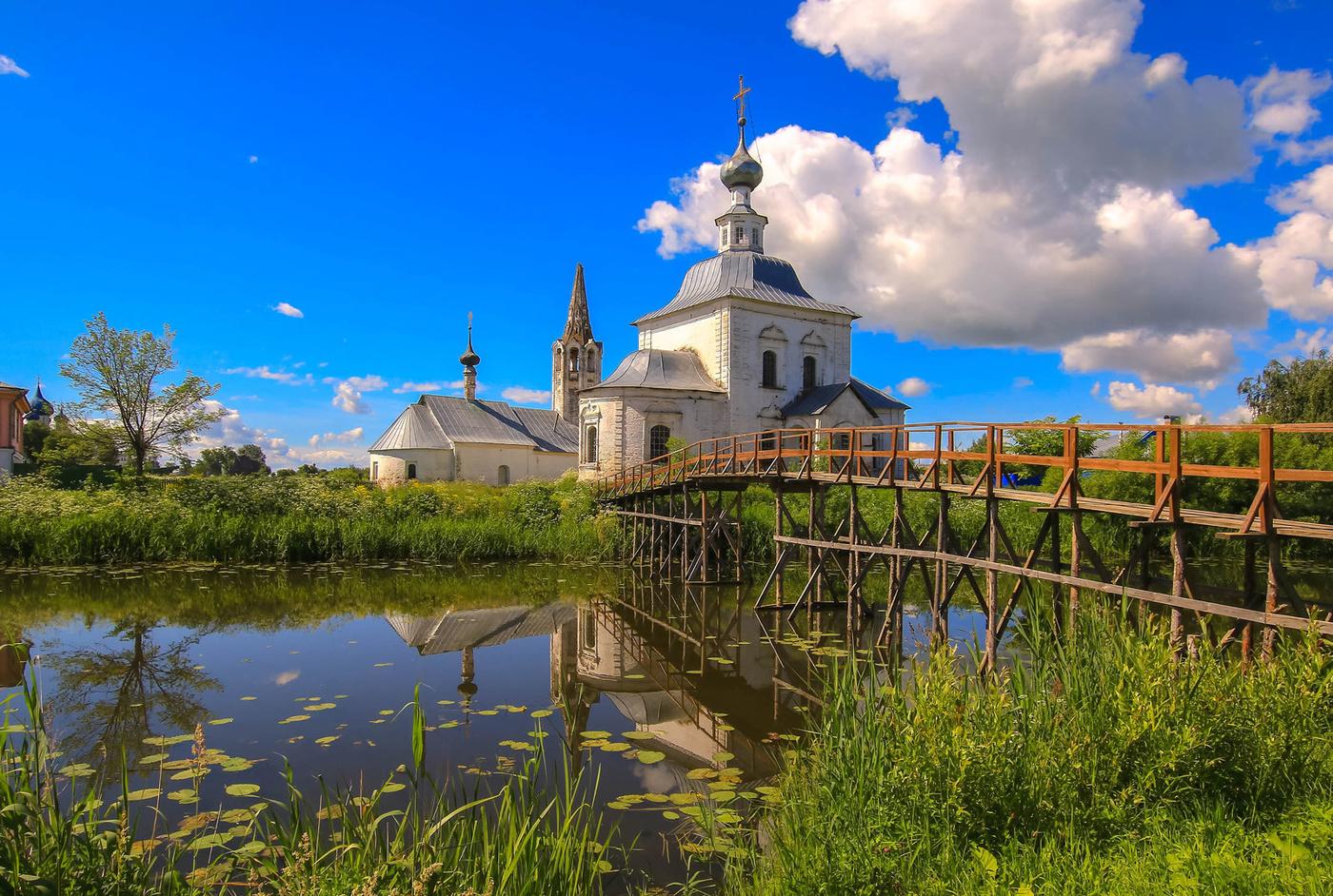 Путешествие назад в прошлое – в город Суздаль
