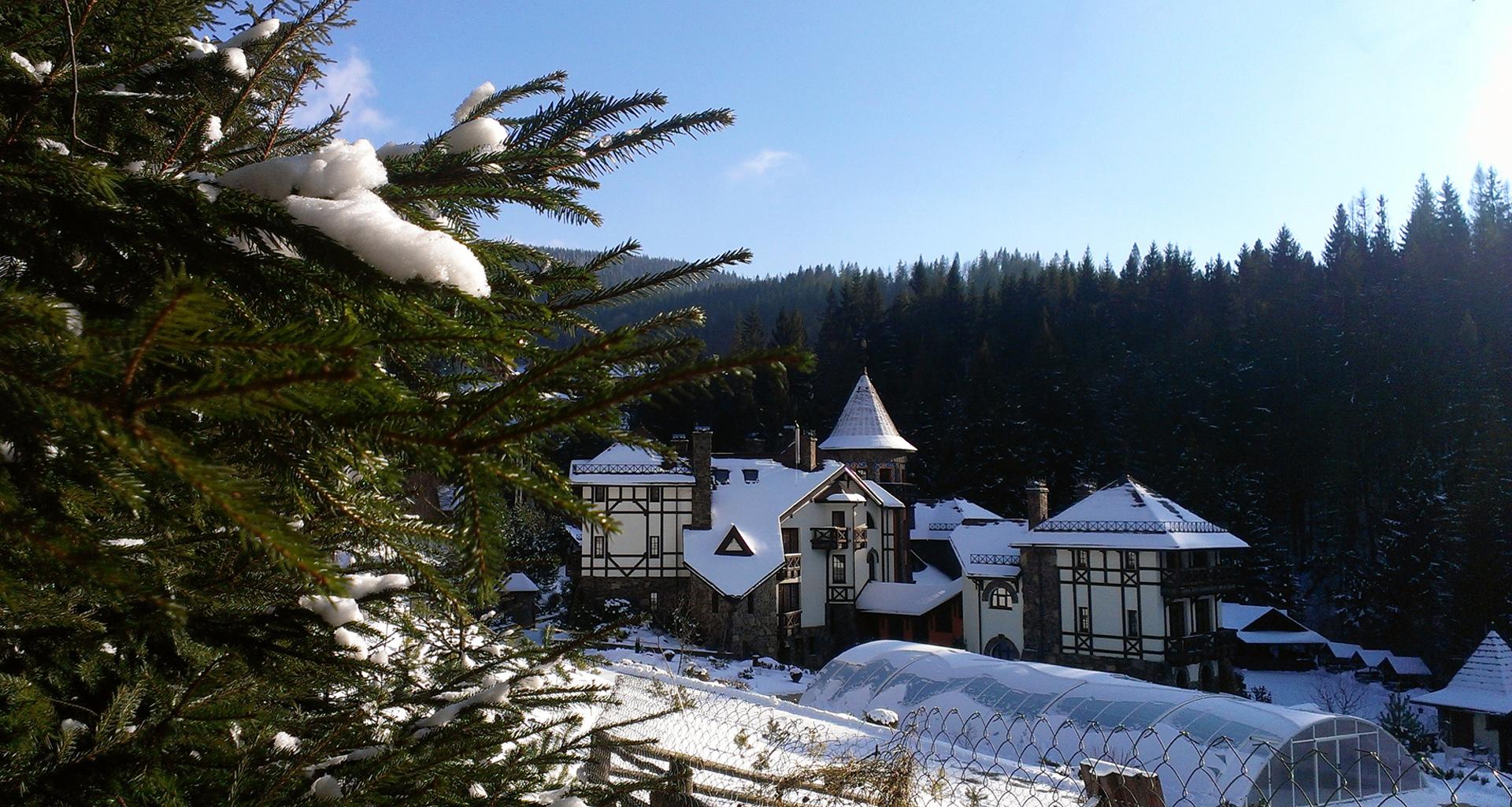 Зимние каникулы в Украине