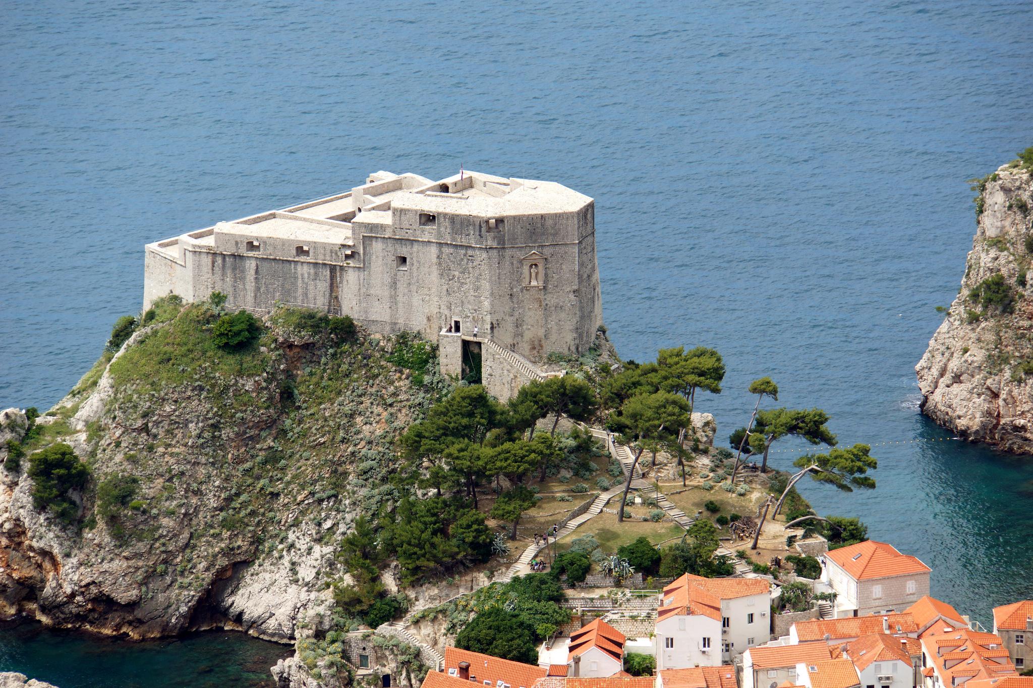 Город Дубровик в Хорватии
