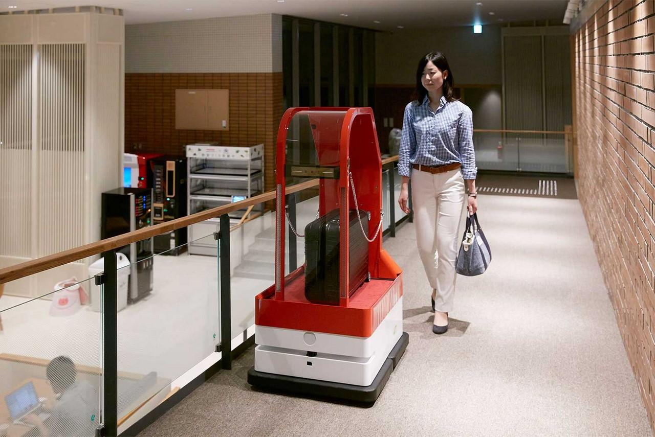 Японский отель с роботами