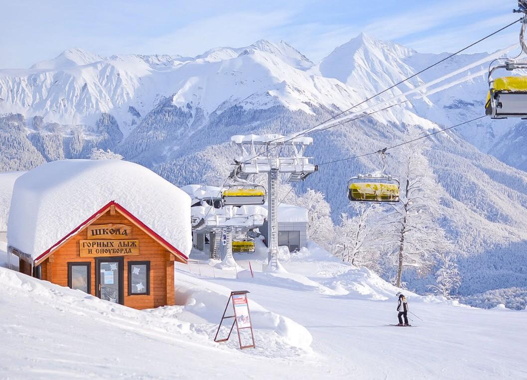 Красная поляна – зимний курорт России