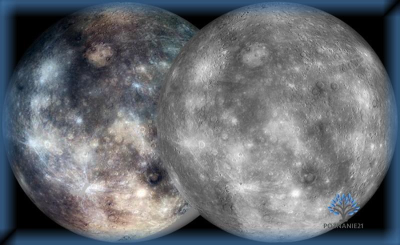 Реконструкция поверхности Меркурия