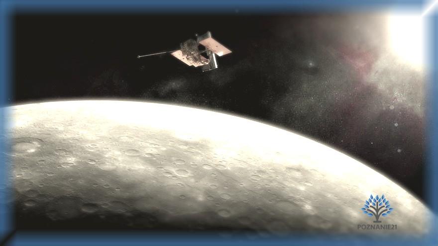 Спутник на орбите Меркурия