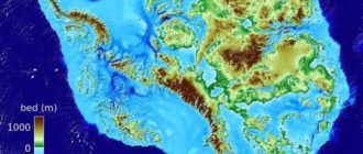 Останки большого материка в Антарктиде